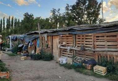 El espacio en el que vivían los bolivianos I redes.