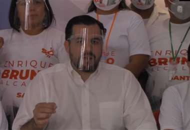Enrique Bruno, candidato a la Alcaldía de Santa Cruz