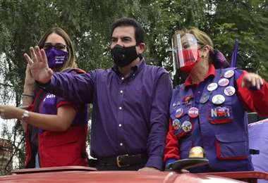 La campaña de Reyes Villa no se detiene (Foto: APG Noticias)