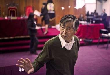 """Comienza juicio contra Alberto Fujimori por """"esterilizaciones forzadas"""""""
