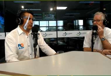 Roberto Fernández en diálogo con Pedro Rivero Jordán en EL DEBER Radio