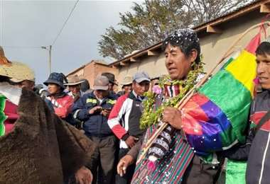 El primer alcalde de San Pedro de Macha I Facebook.