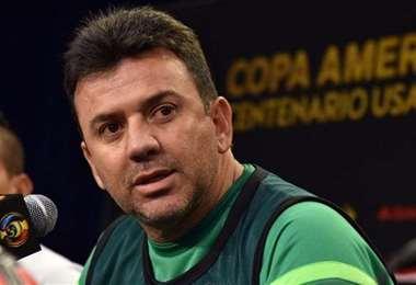 Julio Baldivieso, entrenador de Palmaflor de Cochabamba. Foto: internet