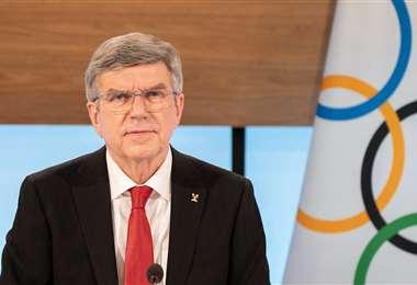 Thomas Bach fue reelegido como presidente del Comité Olímpico Internacional. Foto: AFP