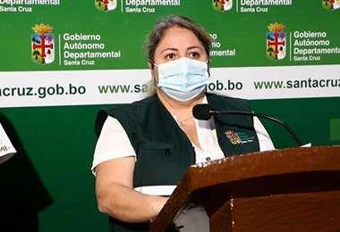 Cinthia Asín,secretaria general, presentó el decreto de transición
