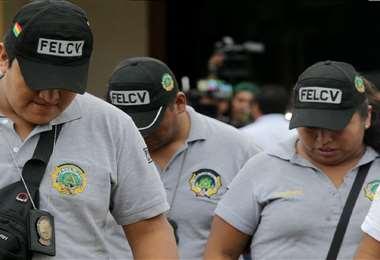 Las fuerzas de seguridad dieron con los menores. Foto: Juan C. Torrejón