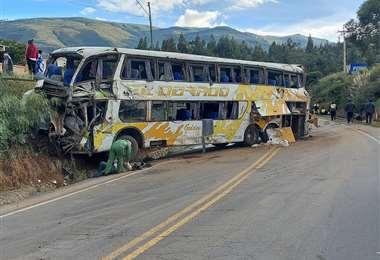 Accidente en Chiñata I Grover López.