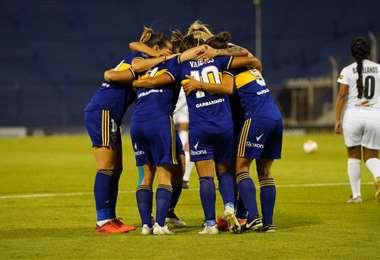Boca fue uno de los equipos que goleó a Deportivo Trópico. Foto: Conmebol