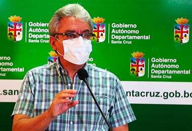 Luis Alberto Alpire, secretario de Desarrollo Productivo