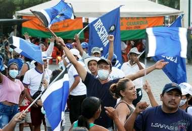 Masistas celebran la victoria en algunos municipios/Foto: Jorge Gutiérrez