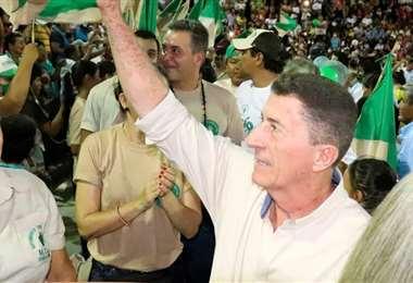 Jorge Roca estuvo activamente en la campaña del MTS (Foto: Facebook)