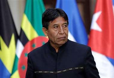El actual vicepresidente de Bolivia