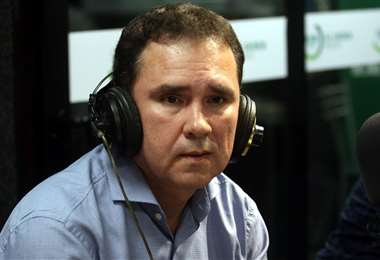 Carlos Blanco se sintió decepcionado con el fallo del TAS. Foto: El Deber