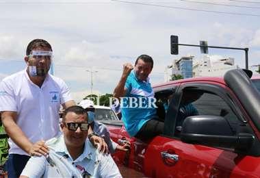 Fernández aseguró desde un inicio que ganaría con más de 6 mil votos /Foto: JC Torrejón