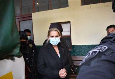 La expresidenta en la Fuerza Anticrimen I APG Noticias.