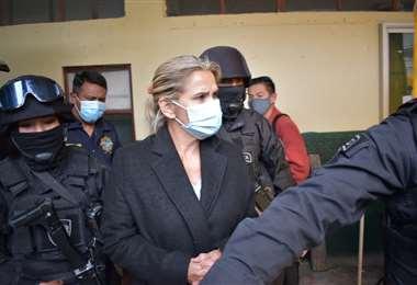 La expresidenta en La Paz I APG Noticias.