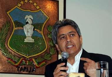 Mario Cossío, exgobernador de Tarija