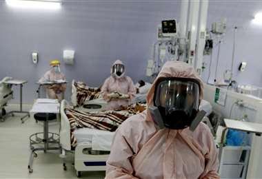 Varias camas siguen ocupadas en los hospitales. Foto: Ricardo Montero