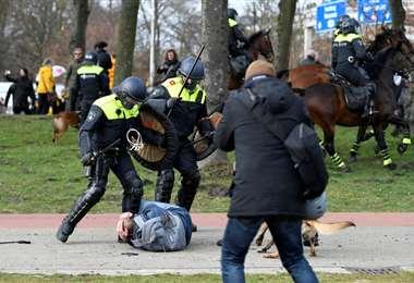 Varios manifestantes han sido detenidos