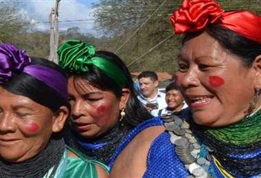 El pueblo guaraní habita en más de 500 comunidades en Tarija, Santa Cruz y Chuquisaca