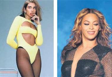 Dua Lipa y Beyoncé se enfrentan en dos categorías