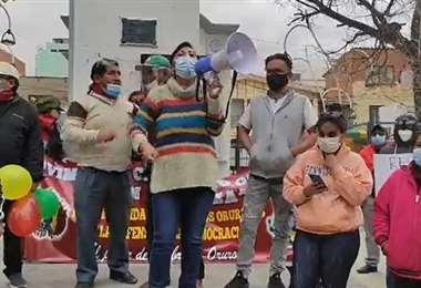 Resistencia civil de Oruro expresa su rechazo a las detenciones