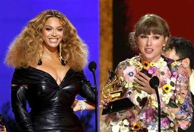 Beyoncé obtuvo cuatro premios y Swift, uno