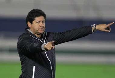 Eduardo Villegas, entrenador de Blooming. Foto: internet