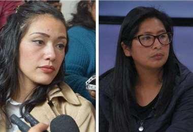 Las exlegisladoras ocuparon la presidencia del senado/Foto: EL DEBER