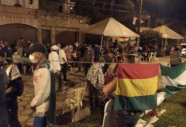 Vigilias y movilizaciones vuelven a mantener a la población en alerta. Foto: R. Montero