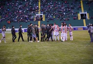 Oriente debió jugar con Independiente el 10 de marzo en Sucre. Foto: APG