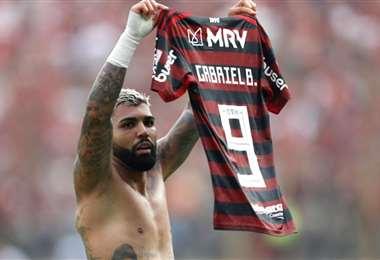 Gabigol es una de las figuras del Flamengo brasileño. Foto: Internet
