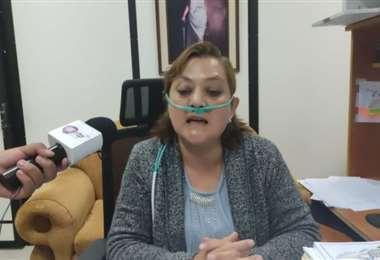 La jueza Tercera de Instrucción en lo Penal, Ximena Mendizábal