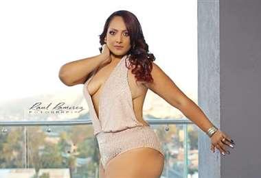 La cochabambina Jhandira Gutiérrez tiene 35 años