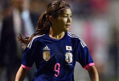 Nahomi Kawasumi renunció al relevo de la llama olímpica. Foto: Internet