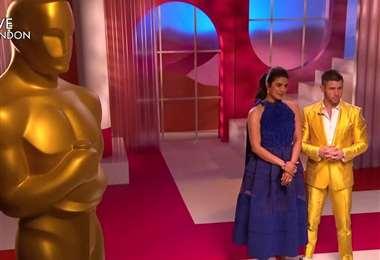Momento de lectura de los nominados Óscar 2021