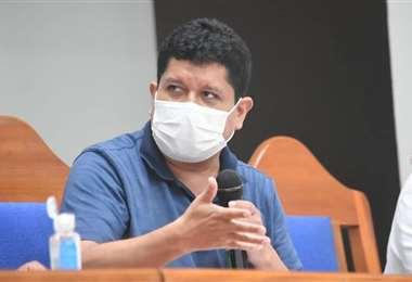 Senador del MAS rechaza las afirmaciones de Almagro. Foto: Internet