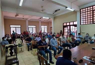 Asamblea en Beni