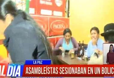 Asambleístas de La Paz I captura.