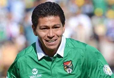 Carlos Saucedo, delantero cruceño que integró la selección. Foto: internet
