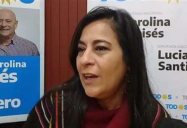 Carolina Moisés, diputada de Argentina