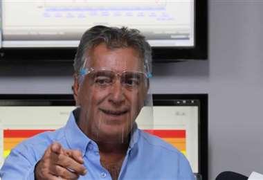Luis Aguilera, director del Searpi. Foto. Gobernación