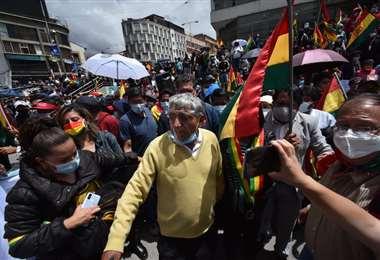 Marcha contra la persecución política I APG Noticias.