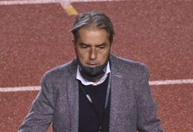 El DT de Bolívar, 'Natxo' González, es español y tiene 54 años. Foto: APG Noticias