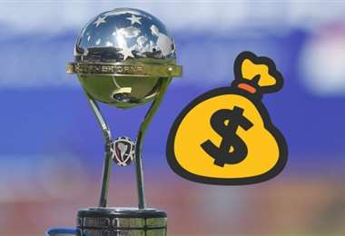 Este es el trofeo en juego, además de los millones de dólares. Foto: TyC