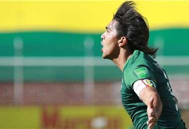 Marcelo Martins es el jugador más importante de la Verde. Foto: Archivo / Prensa FBF