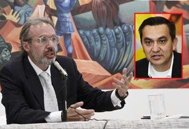 Richter adujo que se quiere instalar un mito de fraude electoral. Foto: Periódico Bolivia