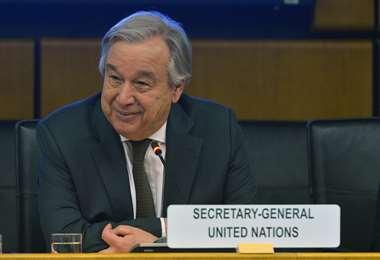 El Secretario General de la ONU expresó su preocupación por Bolivia