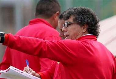 Víctor Hugo 'Copito' Andrada, entrenador de Guabirá. Foto: ELDEBER