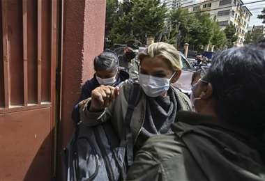 Jeanine Áñez /AFP